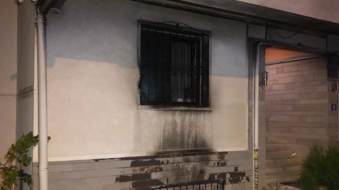 Önce tartıştı sonra evi ateşe verdi!