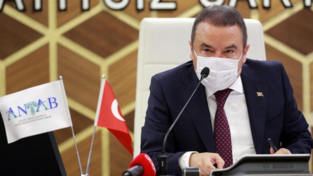 Antalya Belediyesi'nden Muhittin Böcek açıklaması