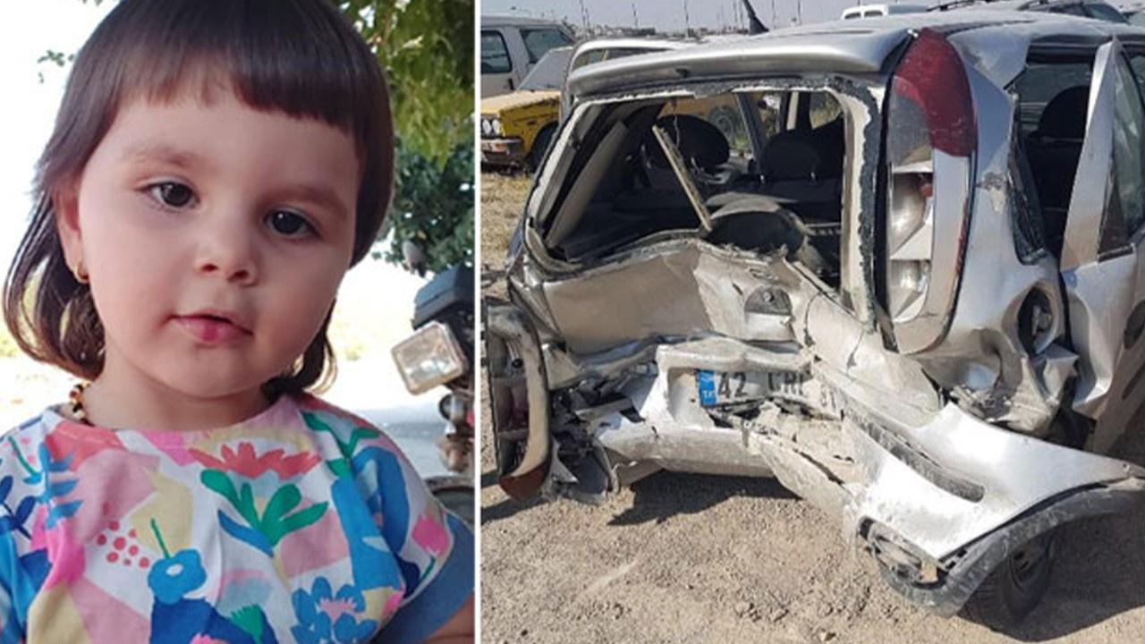 Küçük Aybüke trafik magandası kurbanı