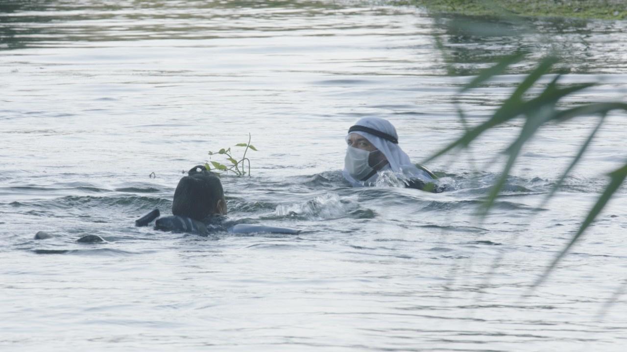 Aslı Omağ'ın Azmak Nehri'ndeki zor anları