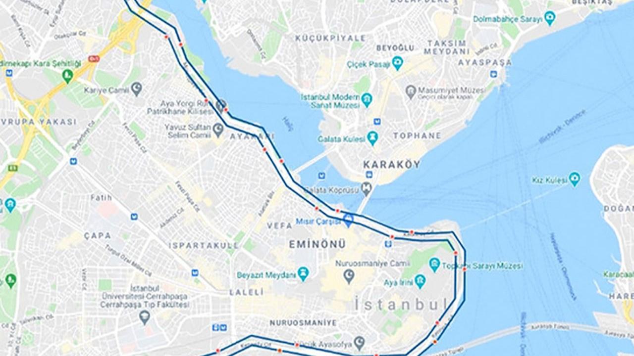 Bu Pazar İstanbul'da bu yollar trafiğe kapatılacak