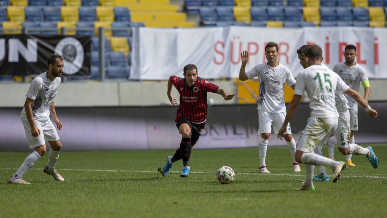 Gençlerbirliği ile Konyaspor puanları paylaştı