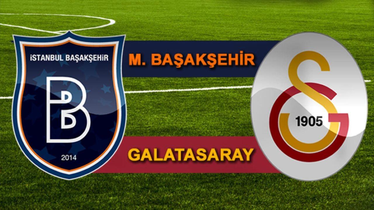 Başakşehir Galatasaray CANLI