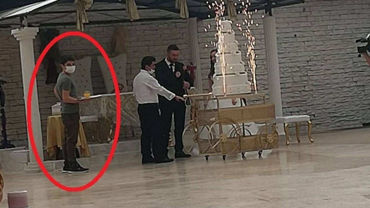 Düğün salonunda koronavirüs şoku