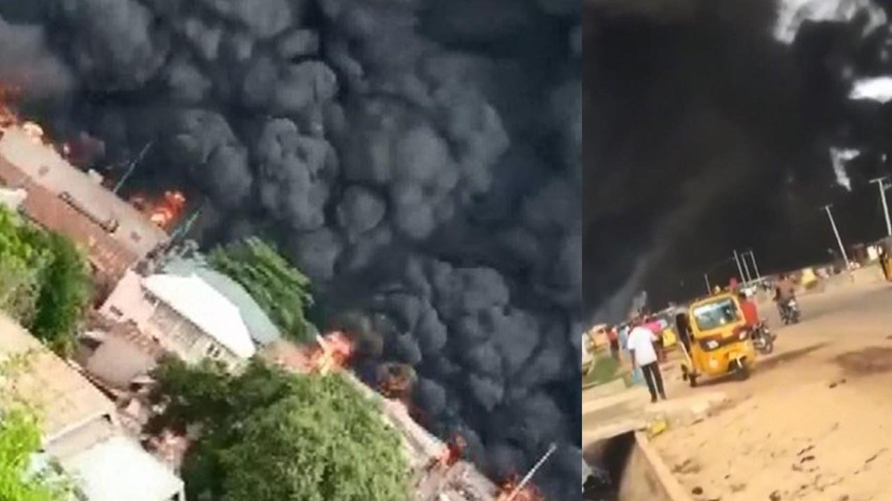 Nijerya'da yakıt tankeri patladı: 23 ölü