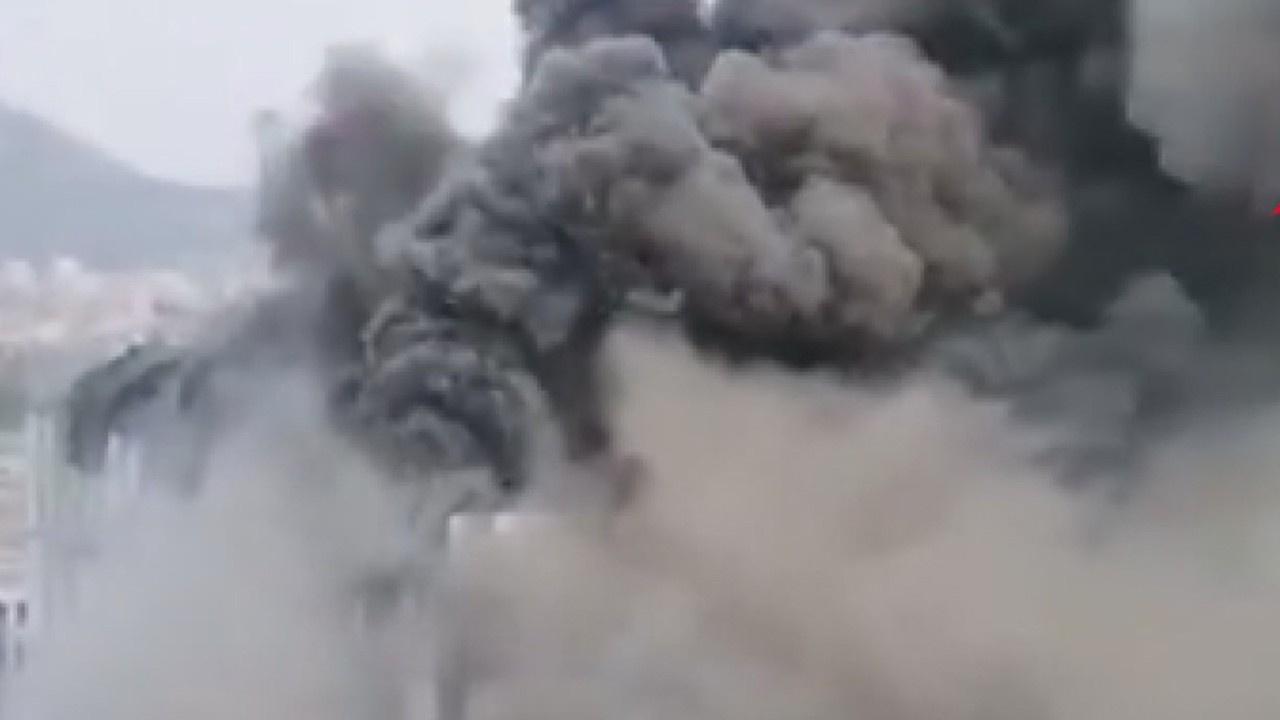 Huawei laboratuvarında dev yangın