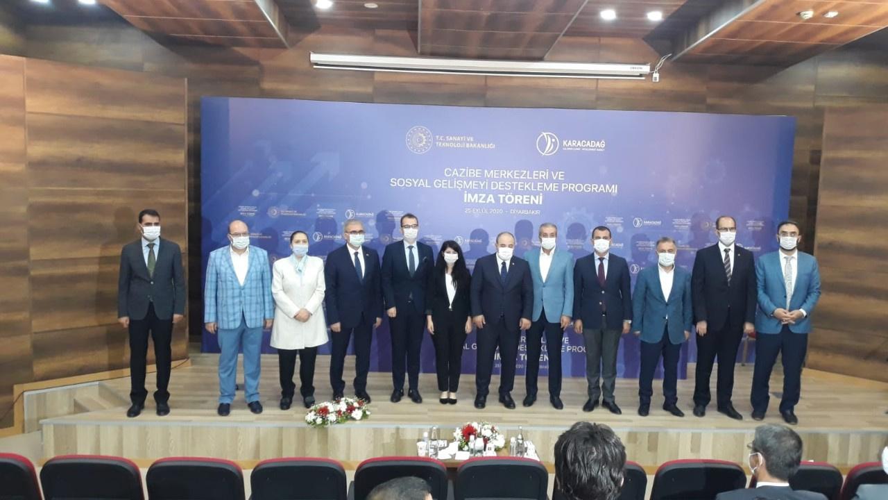 Bakan Mustafa Varank SOGEP İmza Töreni'ne katıldı