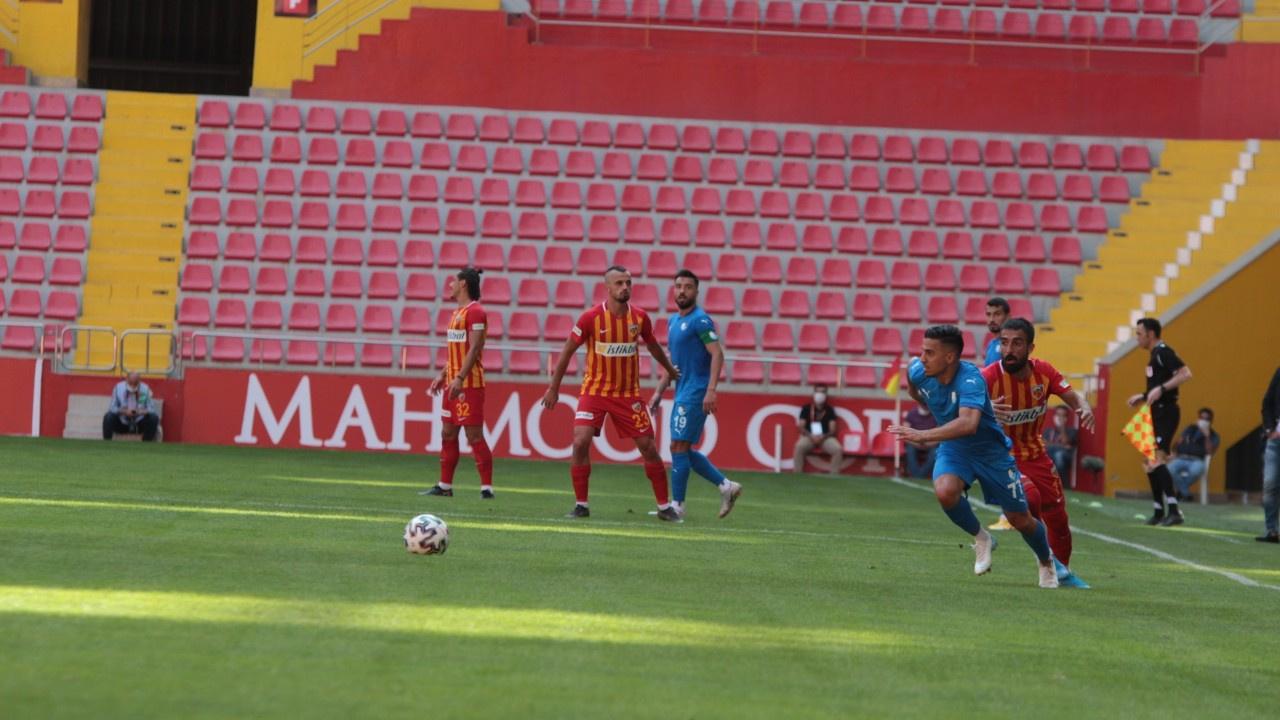 Erzurumspor, Kayseri'den 3 puanla döndü