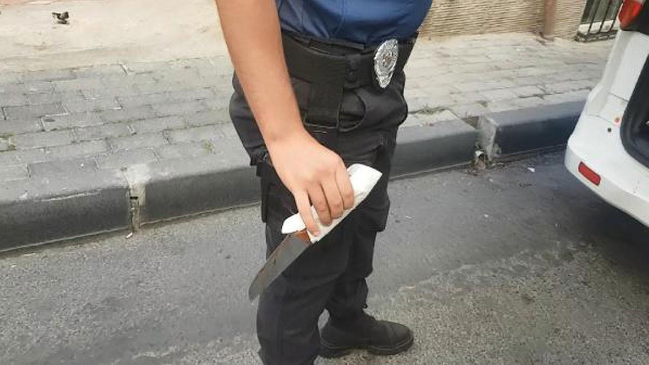 Çığlıkları duyan polise haber verdi!