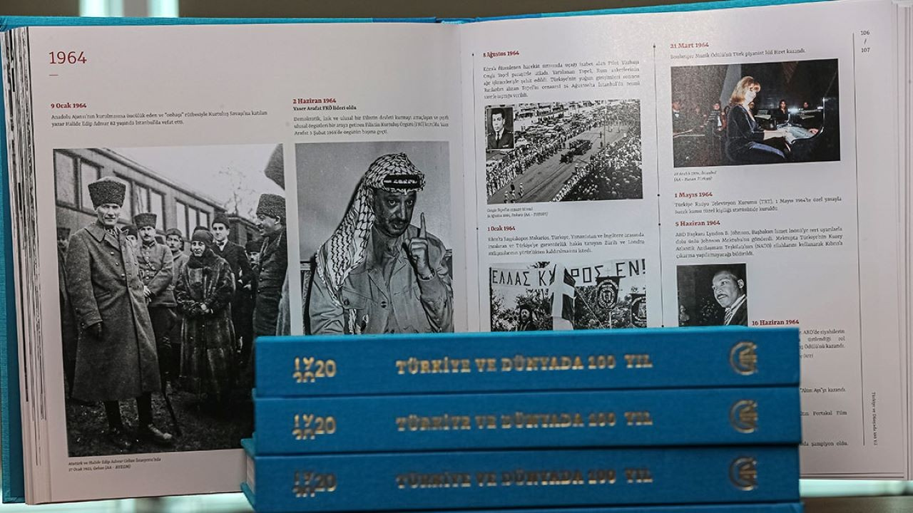 """AA'dan """"Türkiye ve Dünyada 100 Yıl"""" kitabı"""