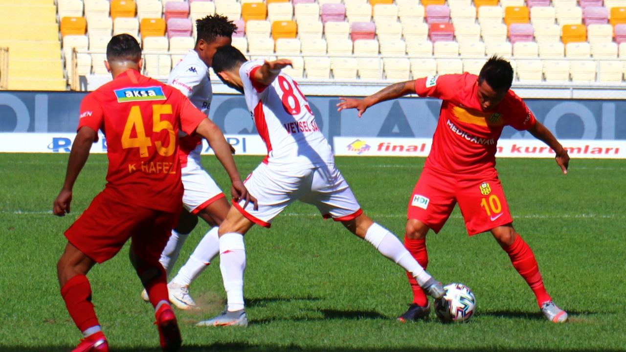Yeni Malatyaspor 3 puanla tanıştı