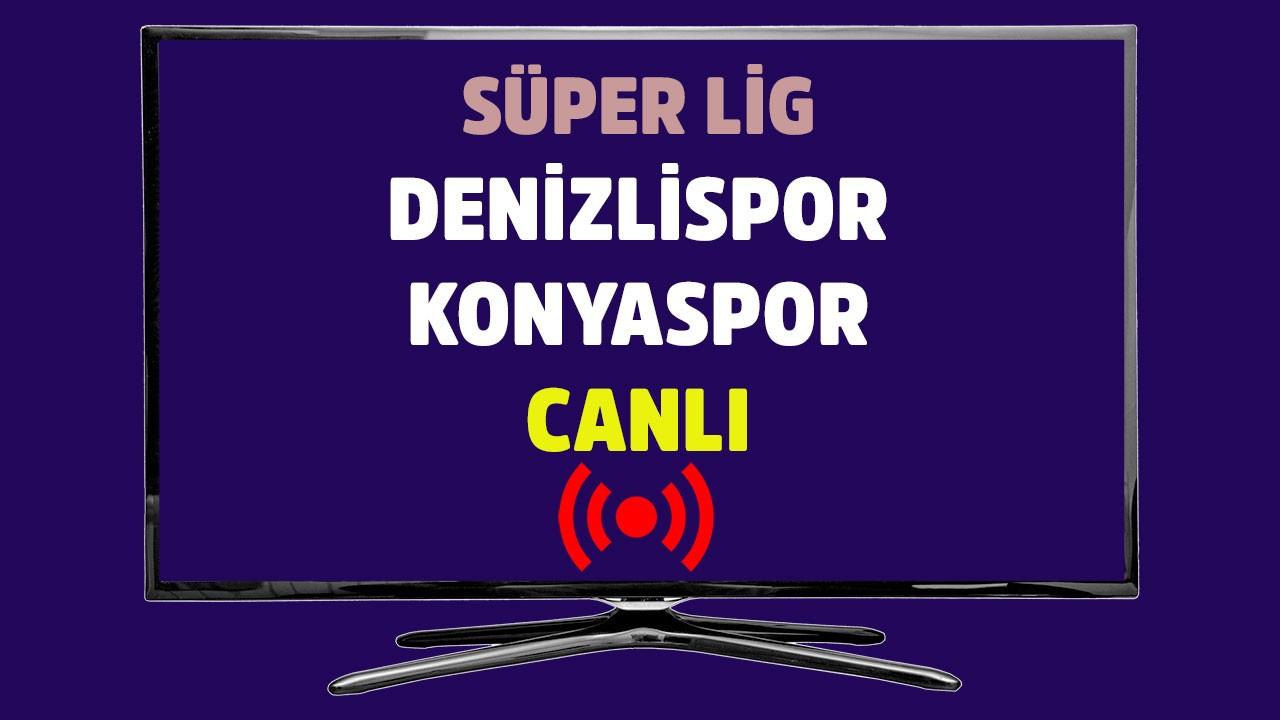 Denizlispor - Konyaspor CANLI