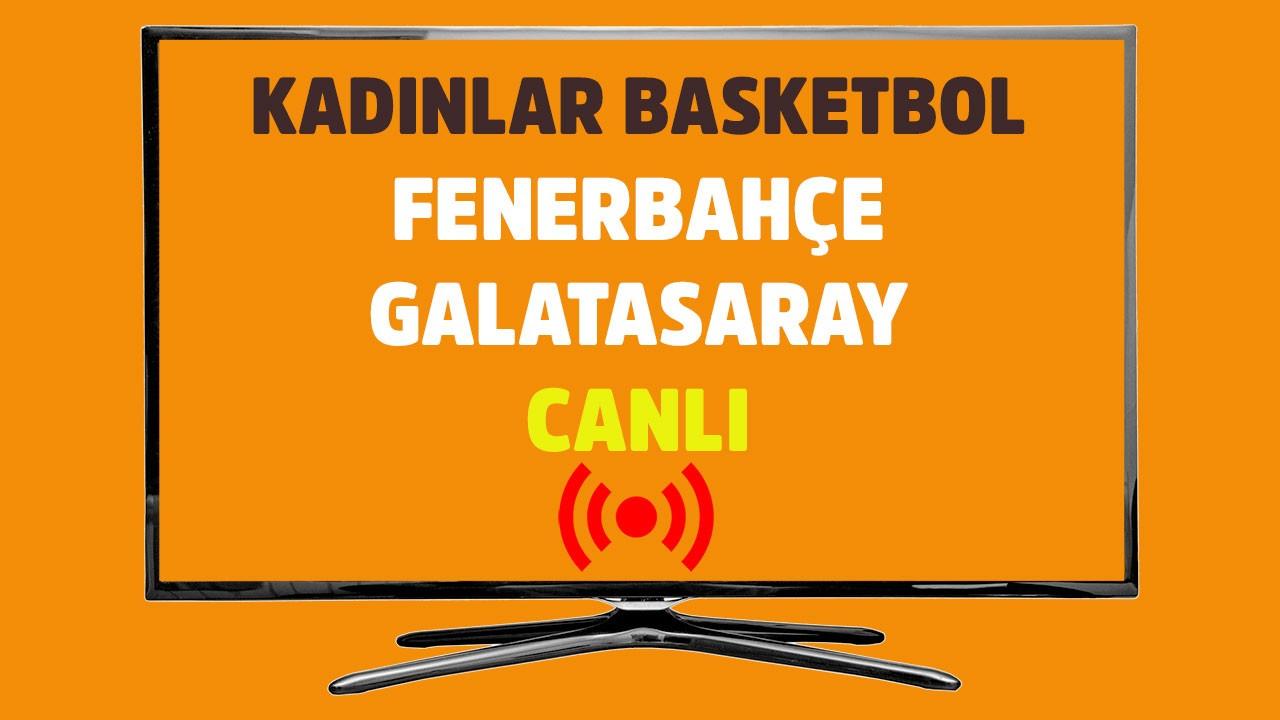 Fenerbahçe - Galatasaray CANLI