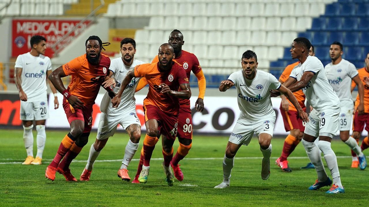 Galatasaray ilk mağlubiyetini aldı!