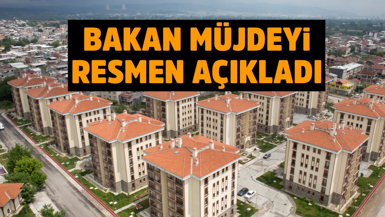 TOKİ'den ev alanlara büyük müjde!