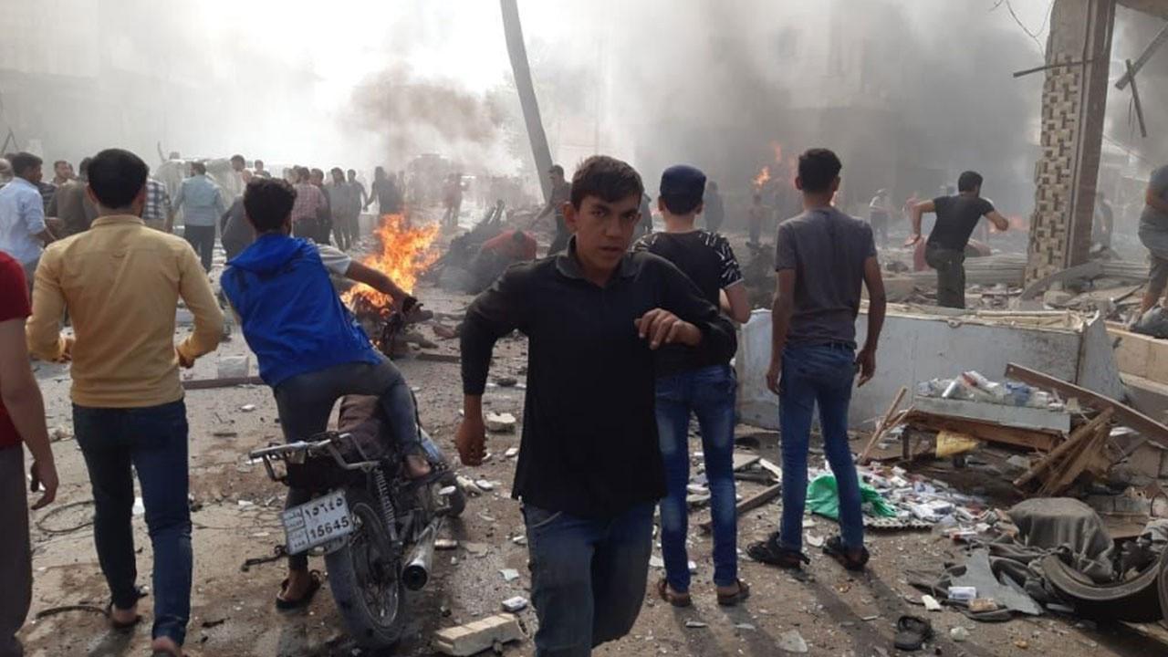 Suriye'de bomba yüklü araç patladı : 15 ölü
