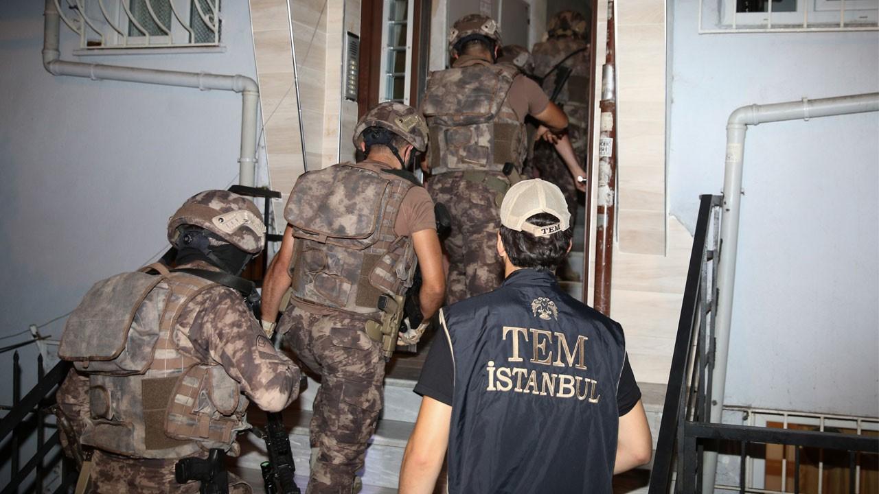 İstanbul'da terör örgütü MLKP'ye operasyon!