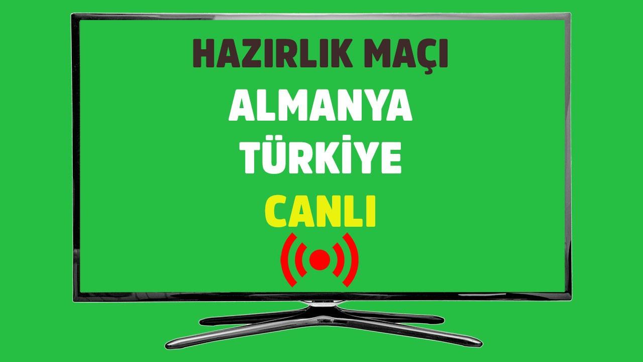 Almanya - Türkiye CANLI