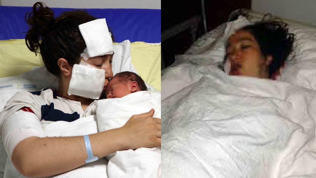 Yeni doğum yapan eşini hastane odasında bıçakladı!