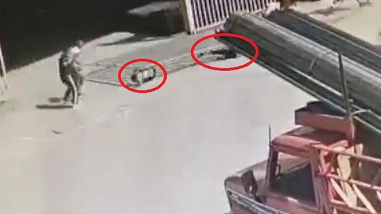 Ankara'da dehşet! 2 çocuğun üzerine devrildi