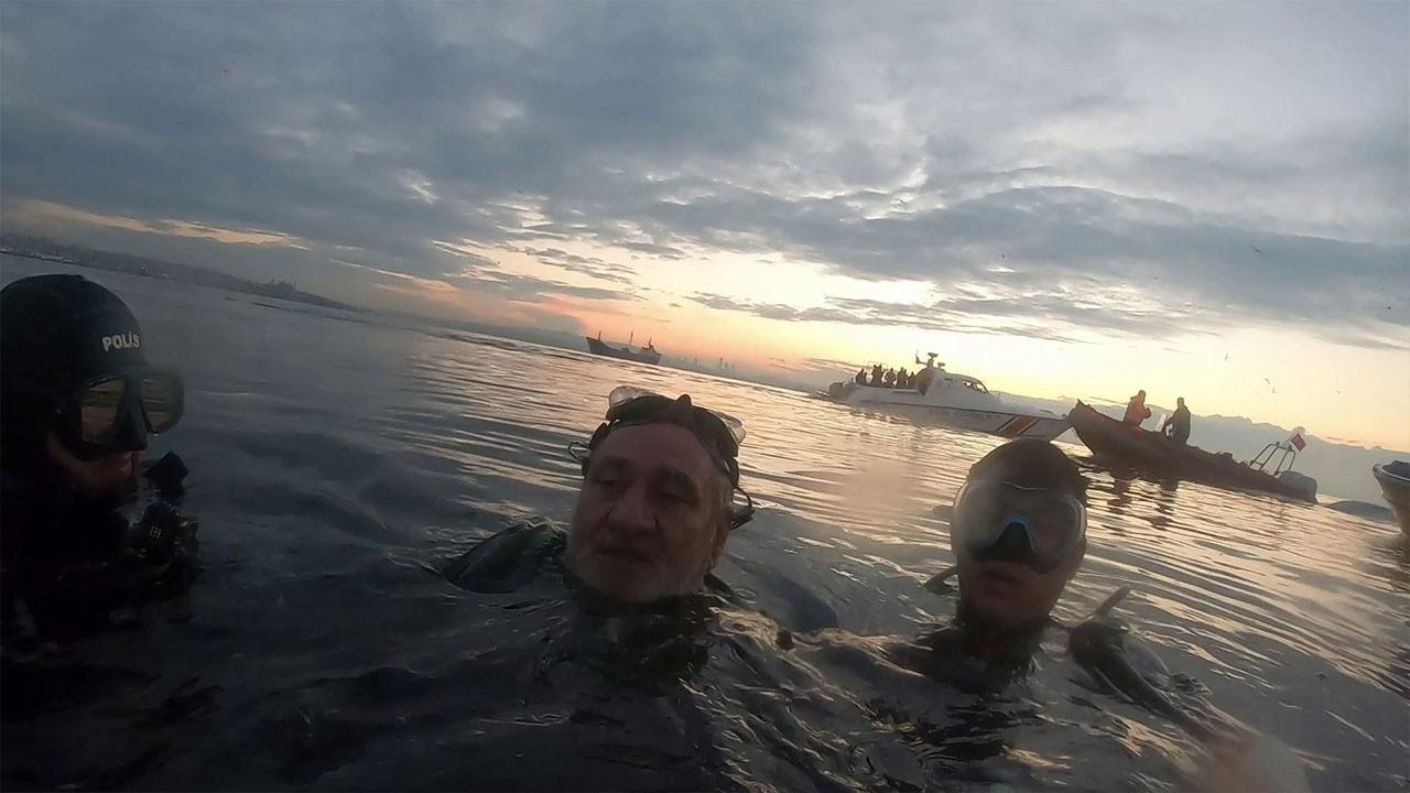 Batan teknede ölümle burun buruna... O anlar kamer