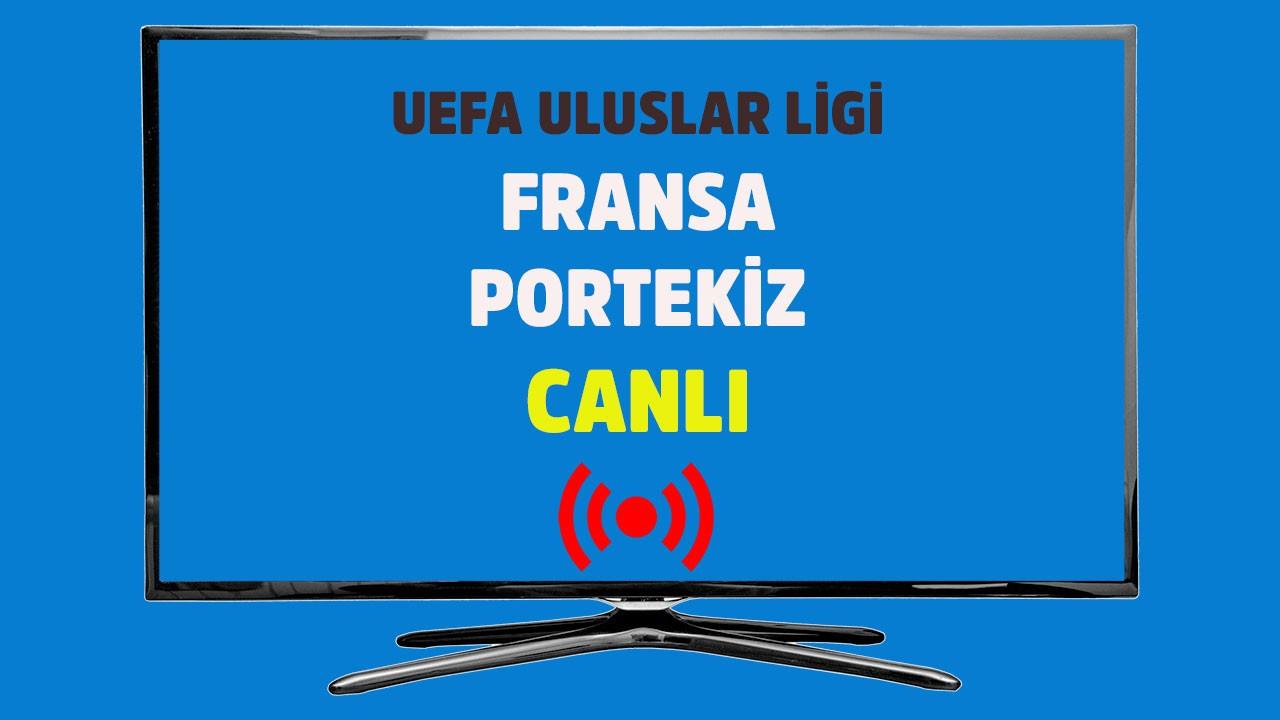 Fransa - Portekiz CANLI