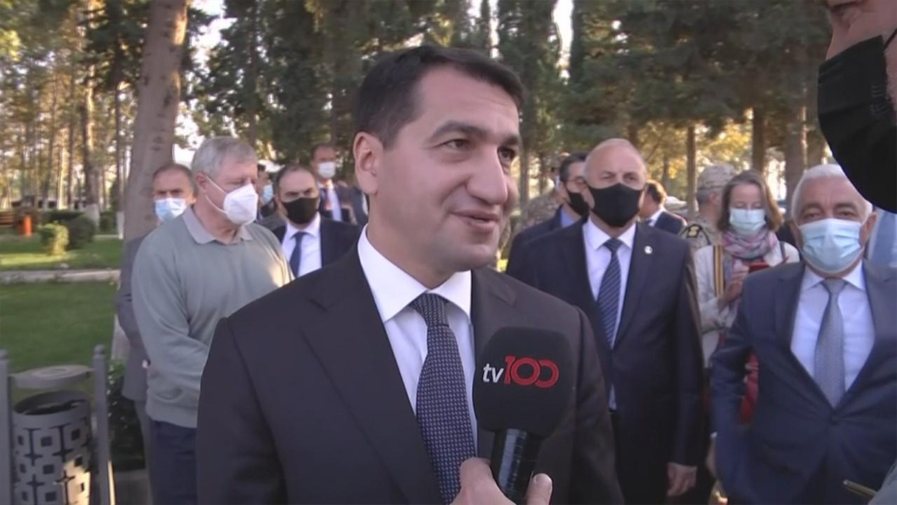 Azerbaycan'dan tv100'e teşekkür!