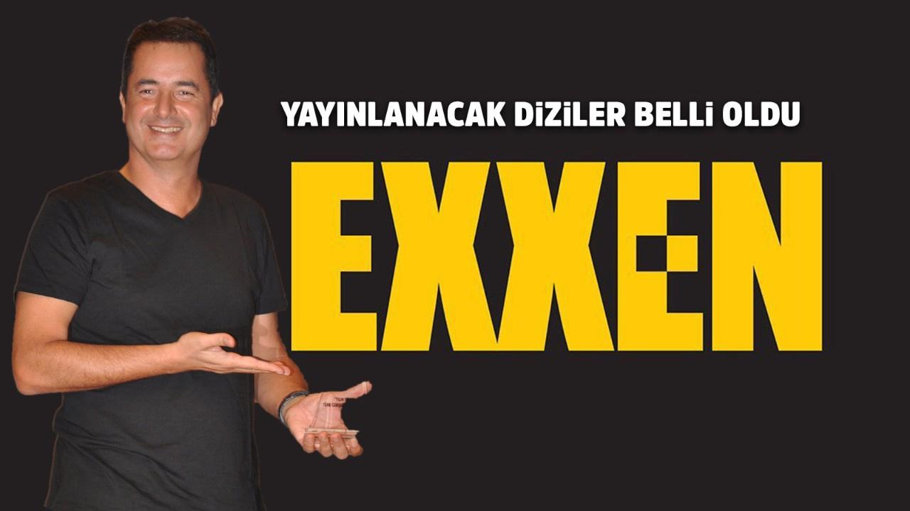 Acun Ilıcalı'nın Exxen'inde yayınlanacak yapımlar