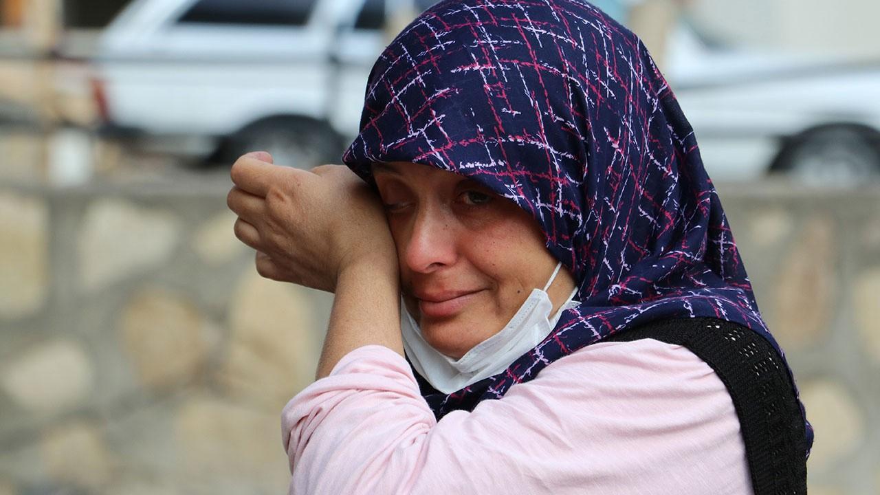 Evi küle döndü gözyaşlarına hakim olamadı!