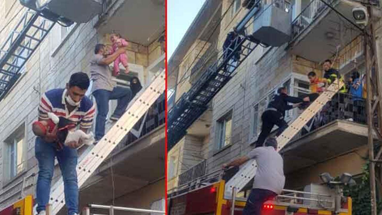Nevşehir'de yangın paniği! 10 kişi hastaneye...
