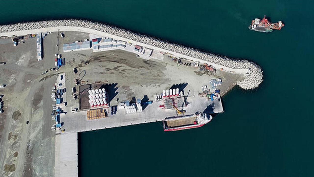 Filyos limanında hummalı çalışma