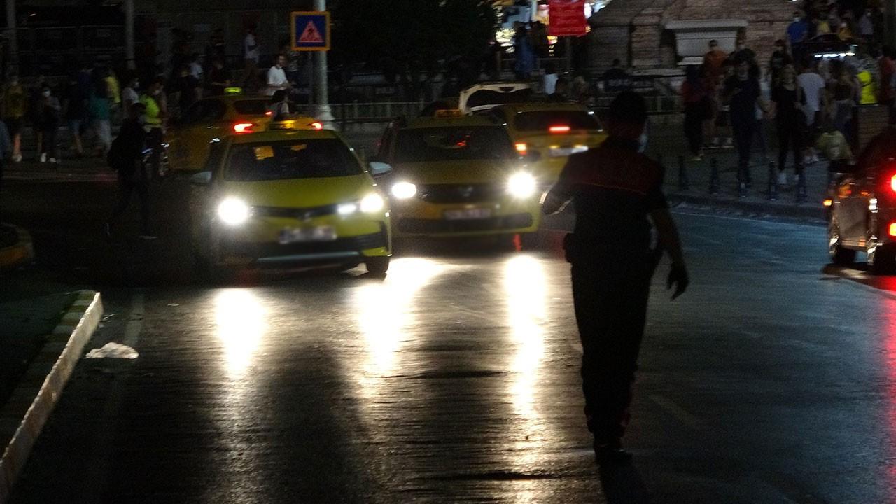 Ceza yiyen taksiciden ilginç savunma