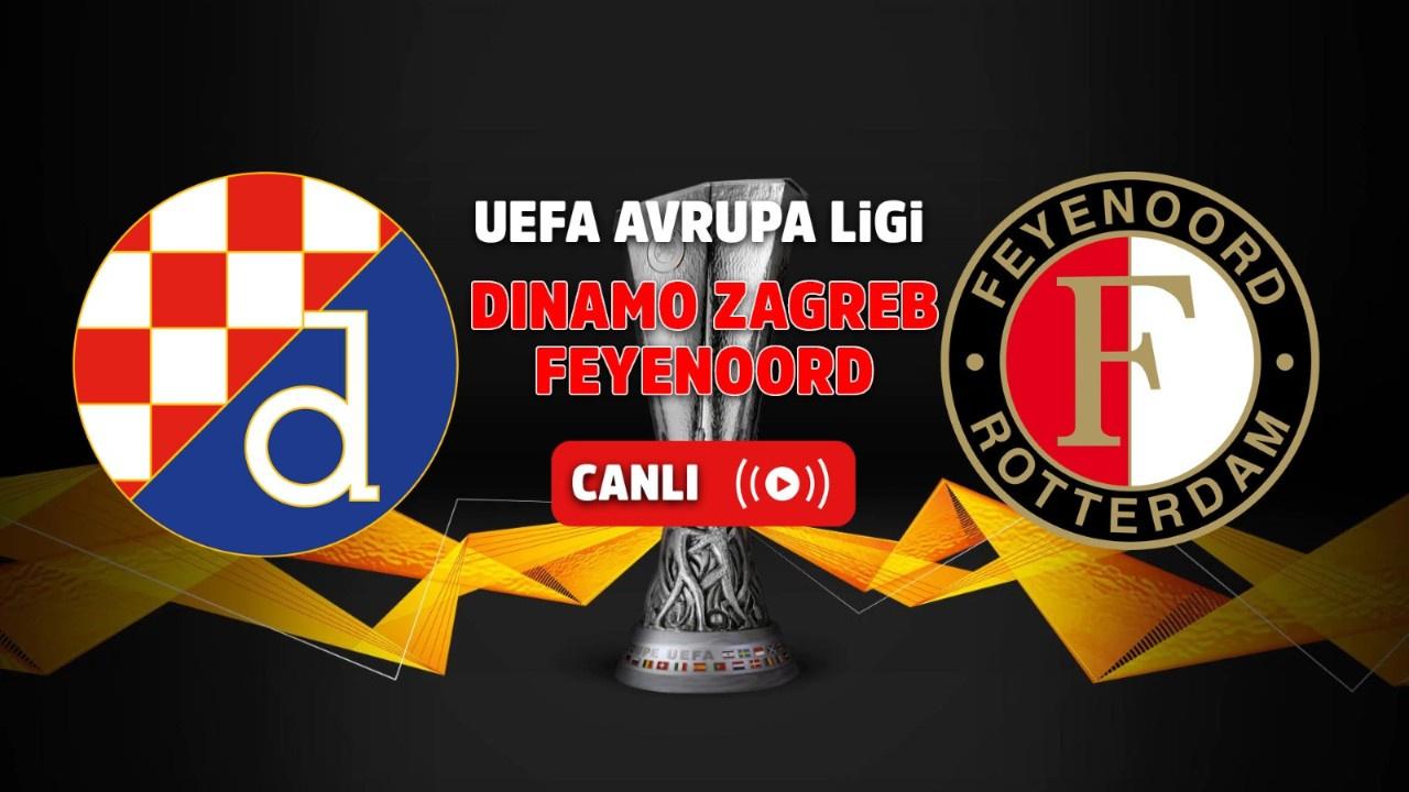 Dinamo Zagreb - Feyenoord Rotterdam Canlı