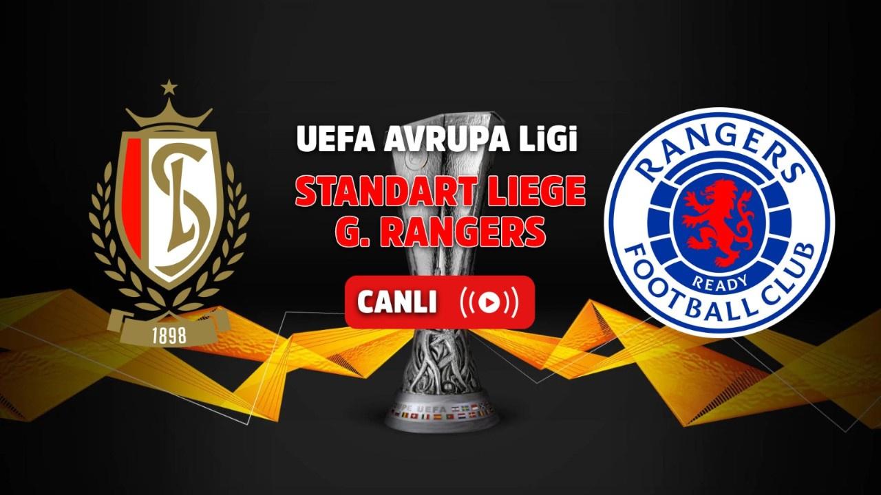 Standart Liege - Rangers Canlı