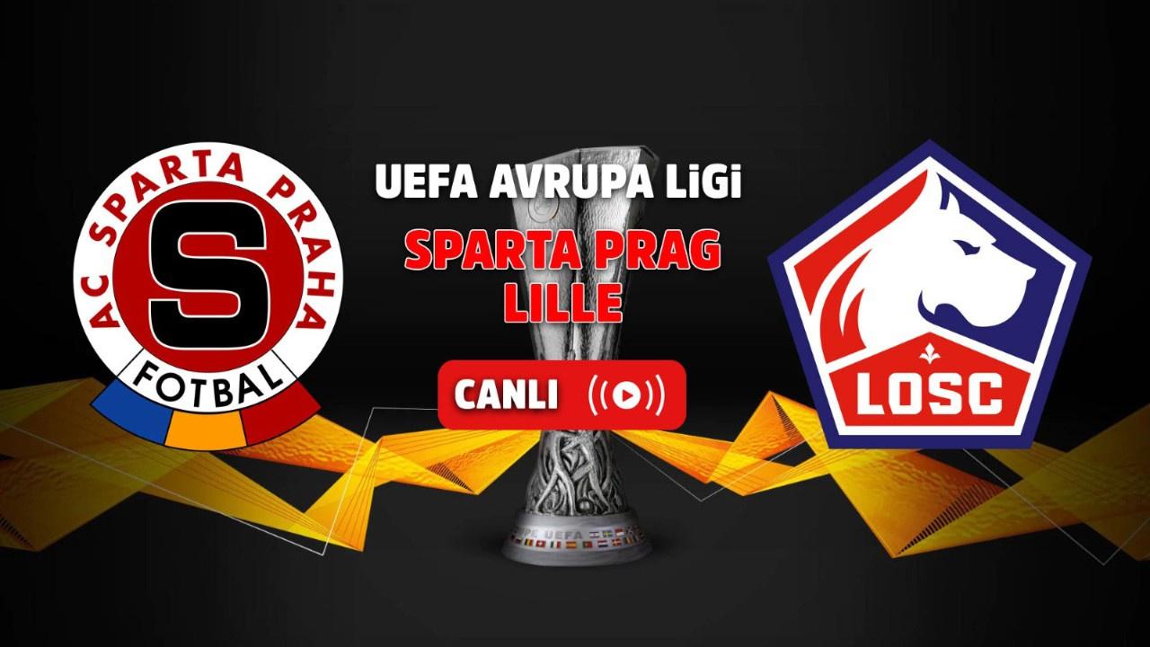 Sparta Prag - Lille Canlı