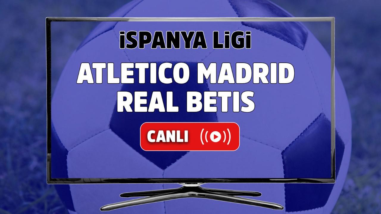 Canlı İzle Atletico Madrid Real Betis Spor Smart şifresiz canlı maç izle -  Tv100 Spor