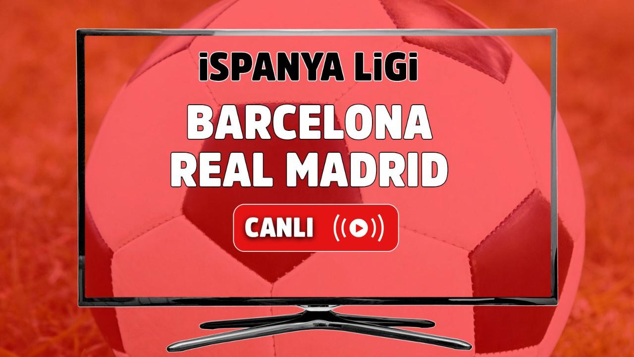 Barcelona - Real Madrid Berlin Canlı