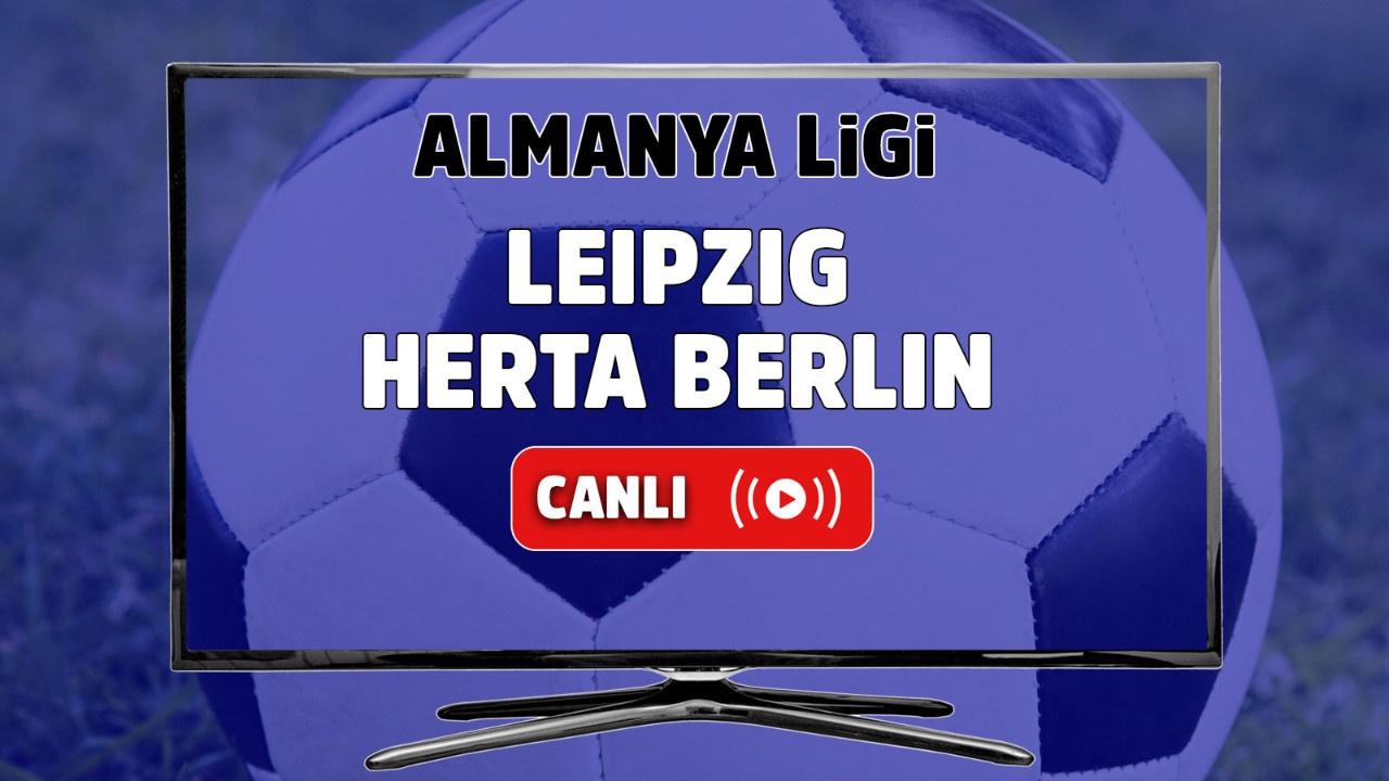 Leipzig - Hertha Berlin CANLI
