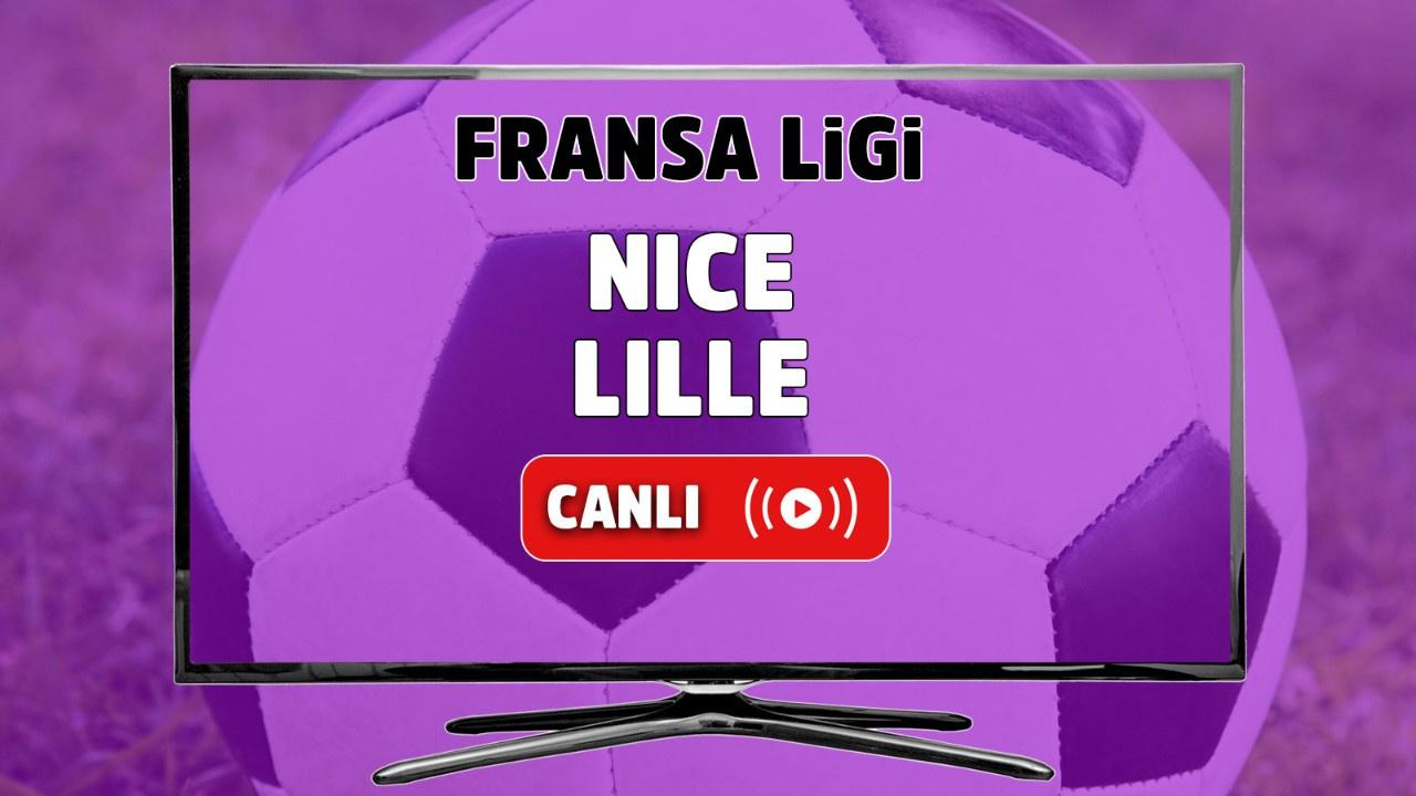 Nice - Lille Canlı