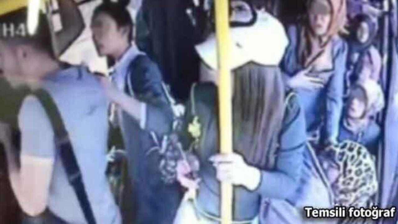 Otobüste genç kıza cinsel saldırı