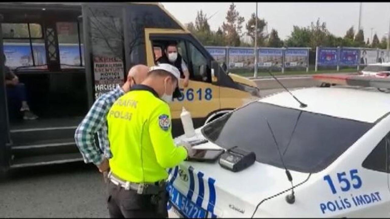 İstanbul'da minibüsçülere ceza yağdı