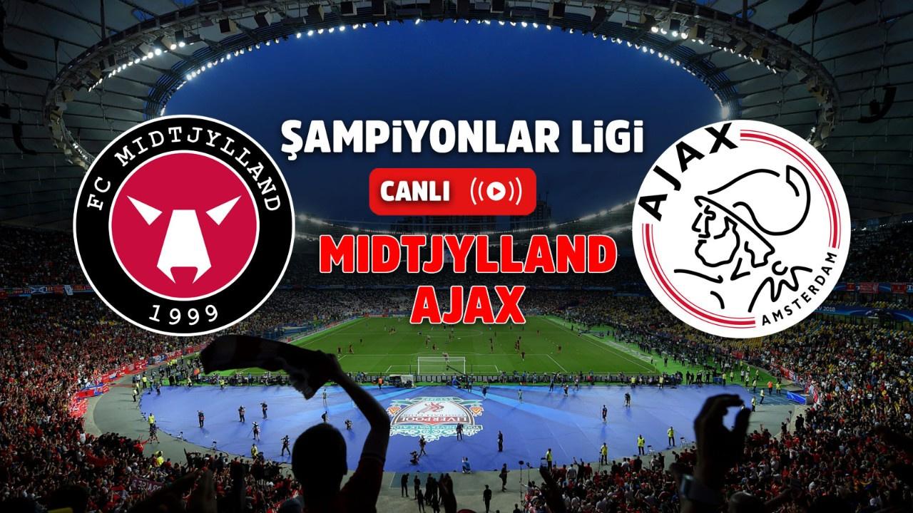 Midtjylland – Ajax Canlı
