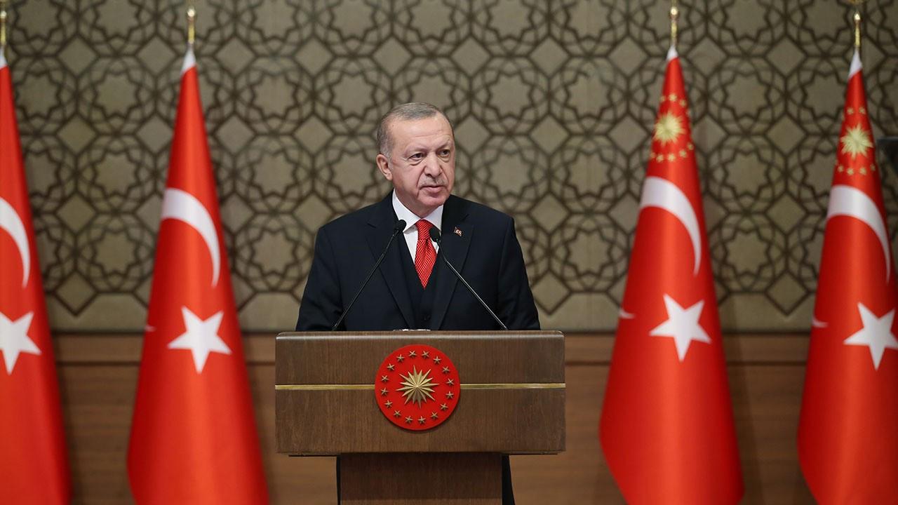 Cumhurbaşkanı Erdoğan'dan Biden'a tebrik