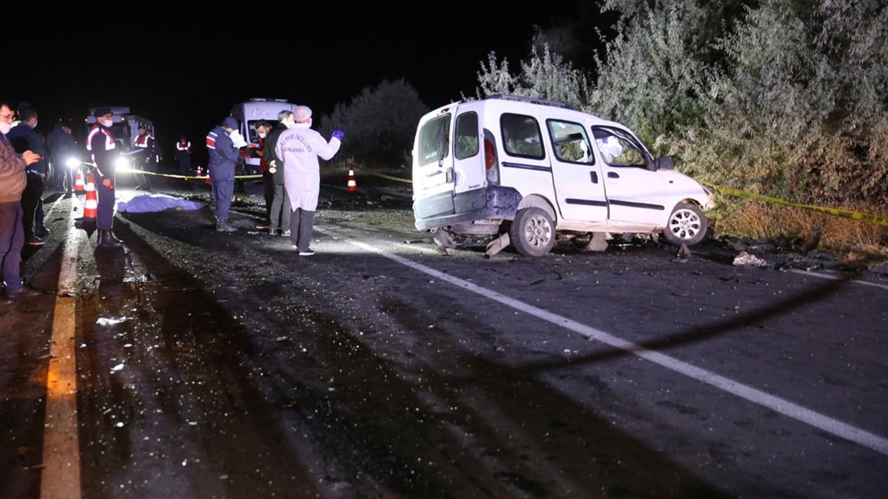 Nevşehir'de korkunç kaza!