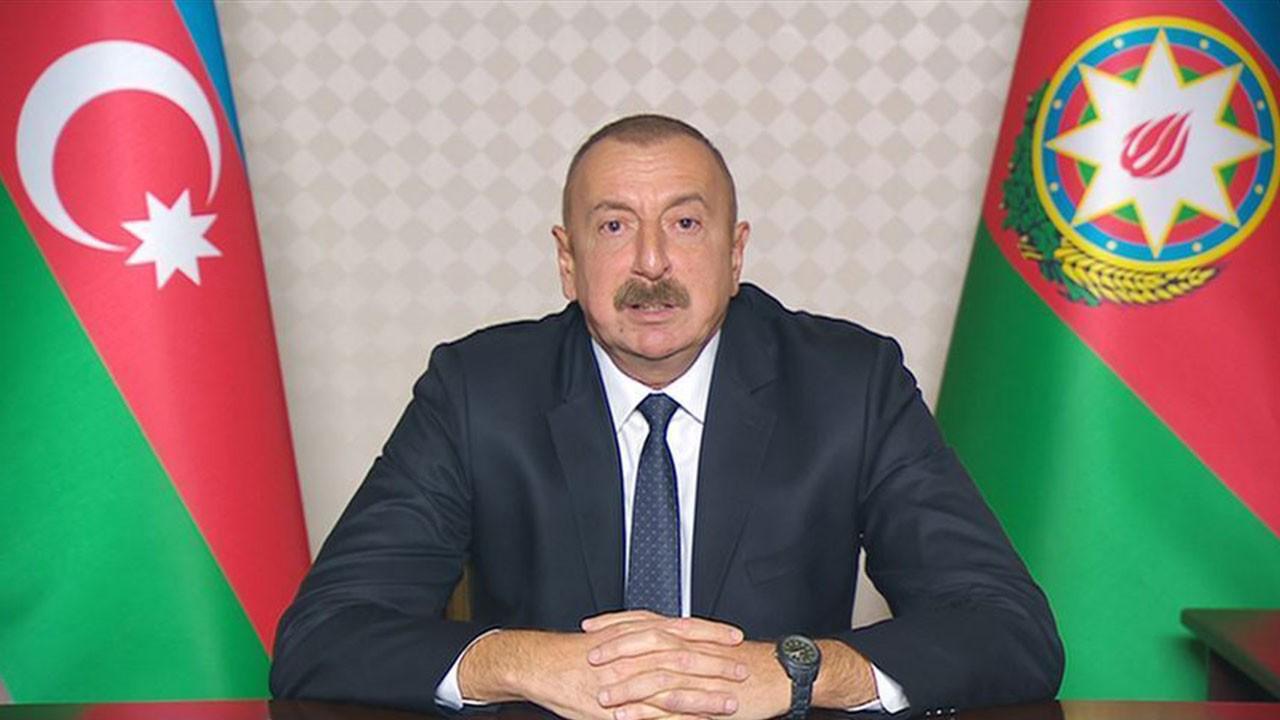 Aliyev'den zafer konuşması