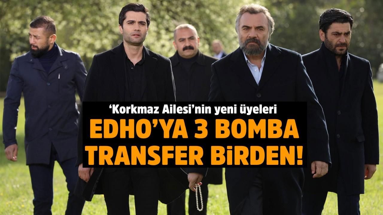 EDHO'ya 3 bomba transfer birden!