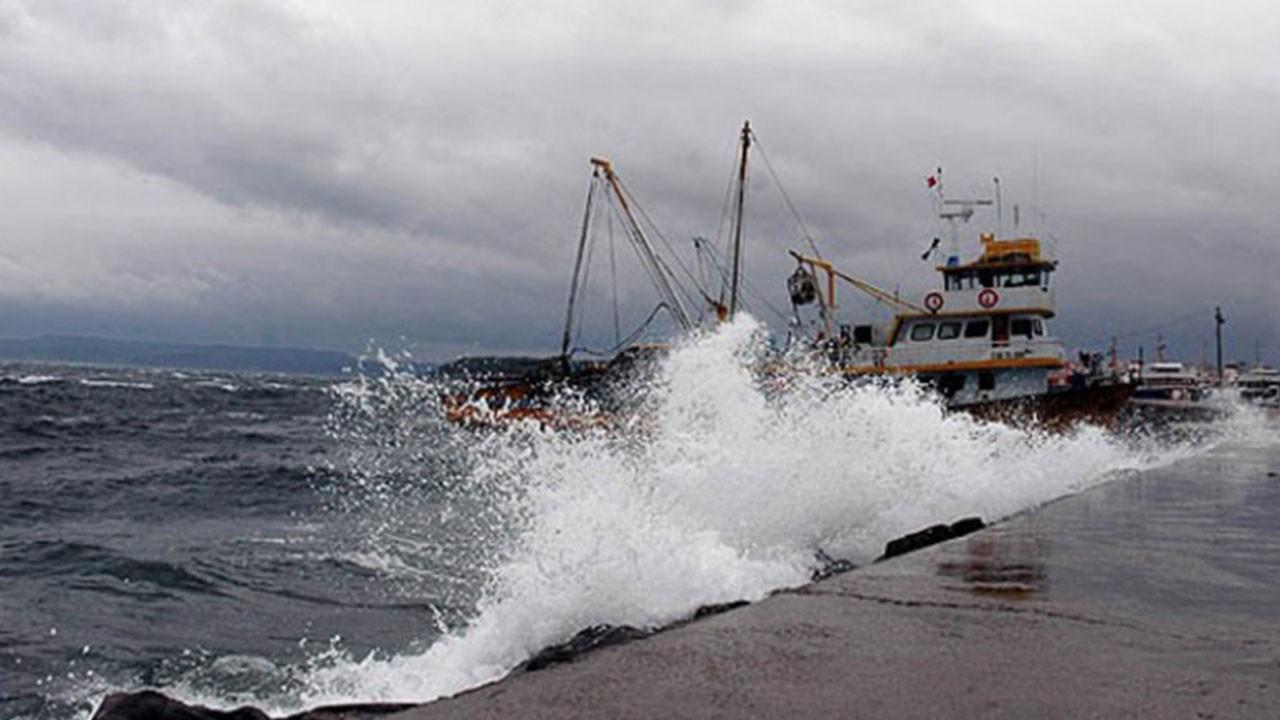Marmara Denizi için fırtına uyarısı