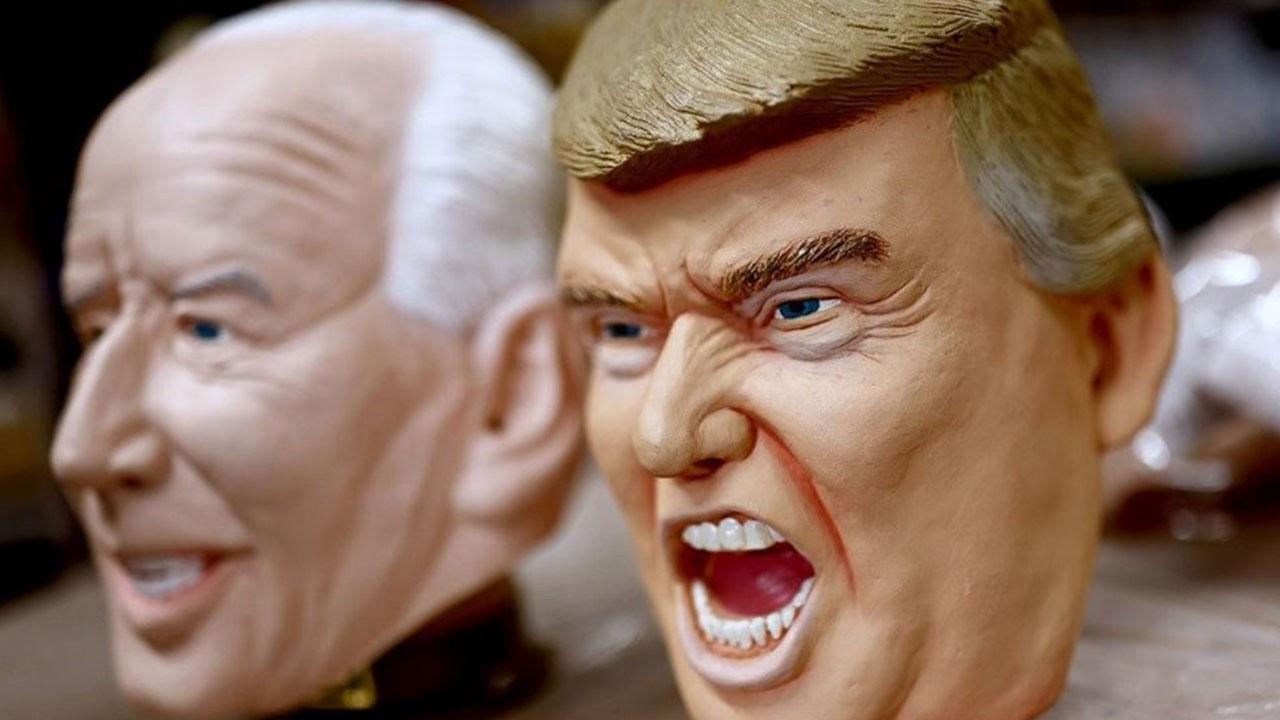 Joe Biden maskeleri geldi