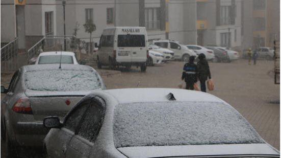 Türkiye'de kar yüzünü göstermeye başladı - Sayfa 3