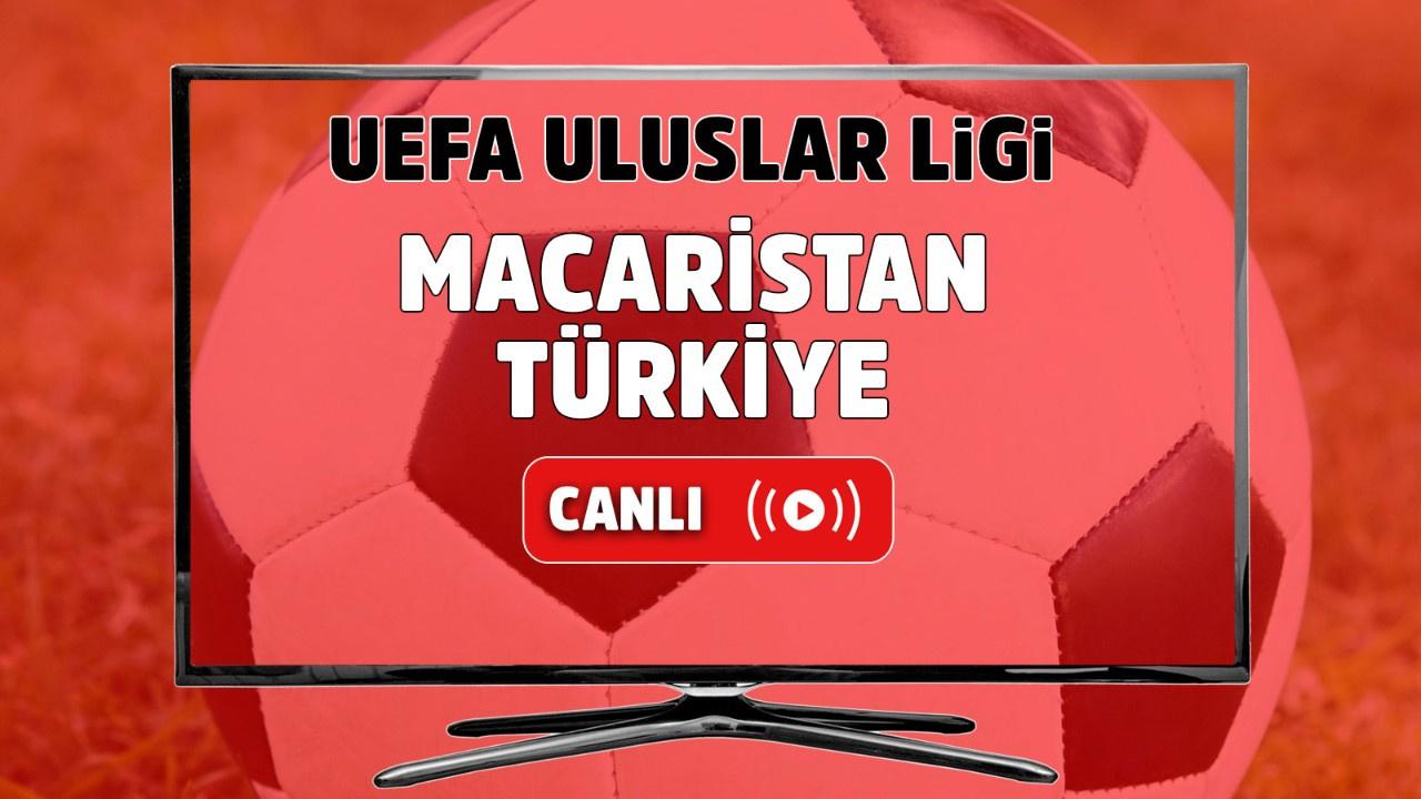 Macaristan - Türkiye Canlı